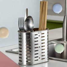 Load image into Gallery viewer, Shop here bestonzon utensil flatware utensil holder sink caddy organizer for chopsticks spatula spoon fork knife