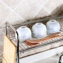 Load image into Gallery viewer, Selection 1208s stainless steel over sink drying rack dish drainer rack kitchen organizer single groove single layer