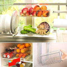 Load image into Gallery viewer, Exclusive shelf liners kitchen shelf stainless steel kitchen sink rack wall mount pan racks tableware drain rack basin dish rack storage rack storage organization color silver size 14040cm