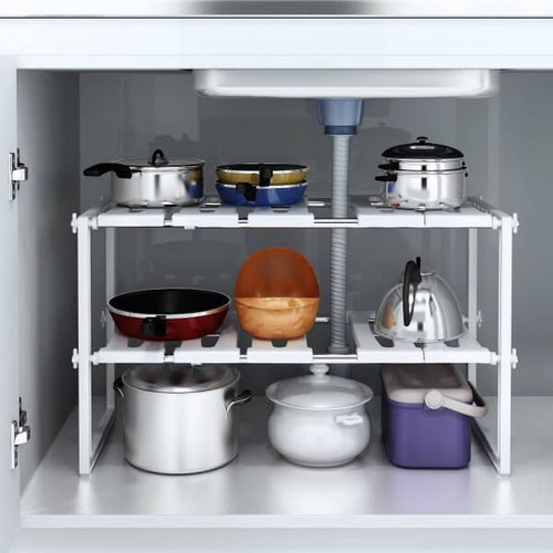Under Sink Storage Shelf Organizer