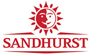 Sandhurst logo - peeled tomatos, artichokes, crushed tomatos, tomato paste, fruit salad, sliced peaches, peach halves, olives, olive oil, cooking oil.
