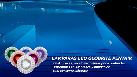 Lámparas LED Globrite Pentair