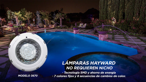 Luces Hayward 3670