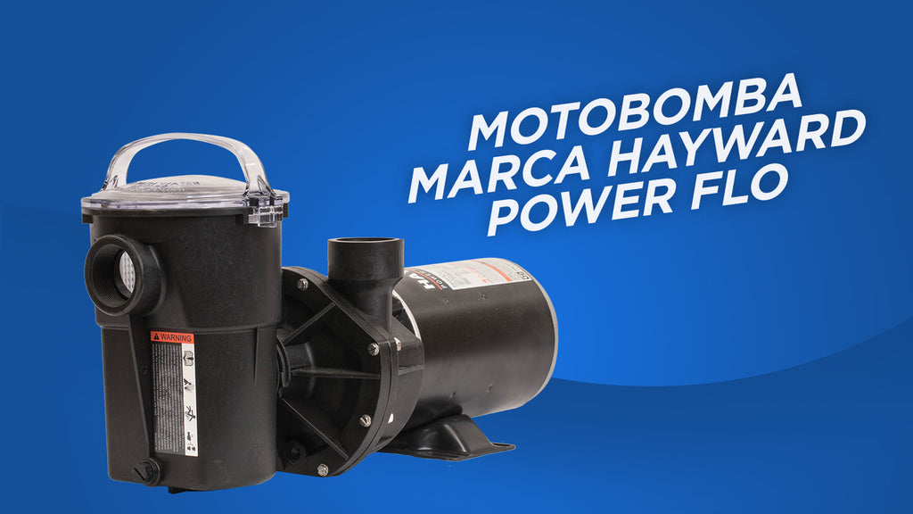 Motobomba marca Hayward Power Flo