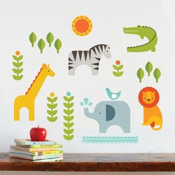 Petit Collage Safari Wall Decal