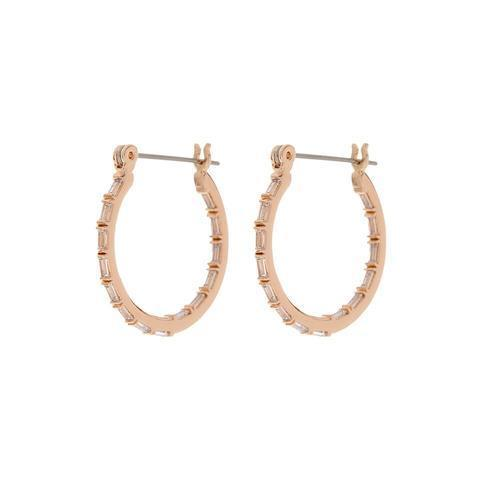 Luv AJ Baby Verona Hoops in Rose Gold