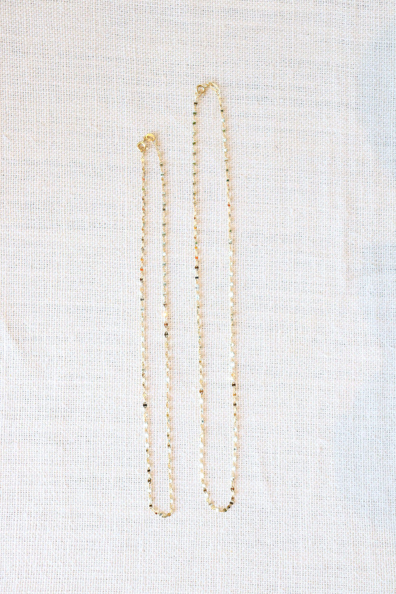 Cindy-Boudov-16-inch-Chain-Mail-in-Yellow-Gold-Ethical-Sustainable-Handmade-Jewelry-Santa-Barbara-Boutique