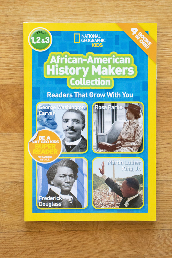 National Geographic Readers: African American History Makers