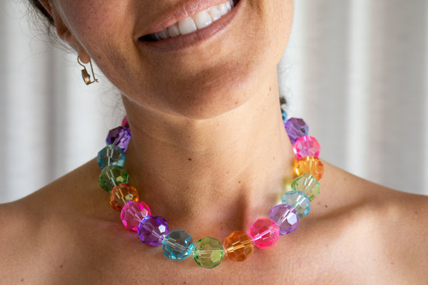 Stine Goya Pepper Necklace in Rainbow