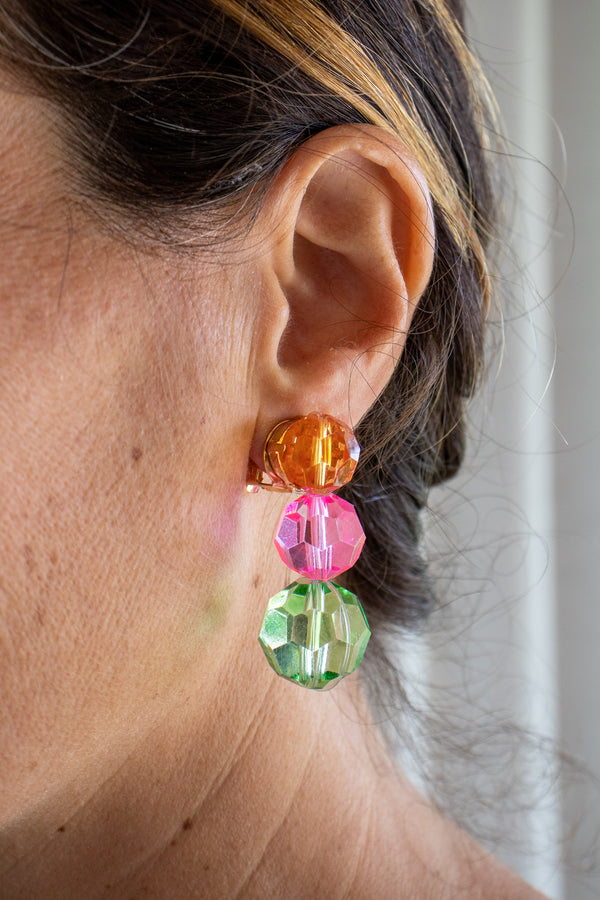 Stine Goya Paris Earrings in Rainbow