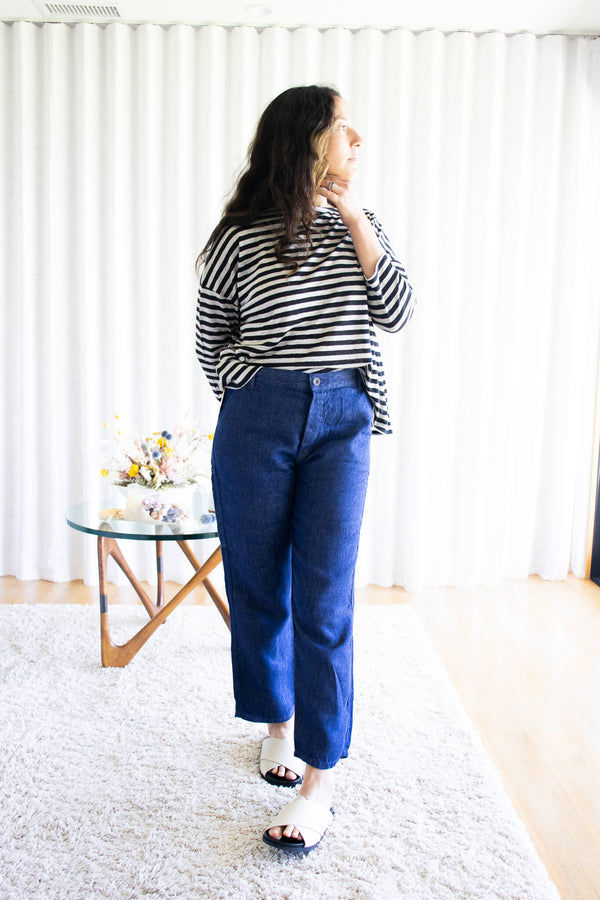 Ichi-Antiquites-Linen-denim-pants-Sustainable-Style-Santa-Barbara-Boutique-Jake-and-Jones-Small-Business