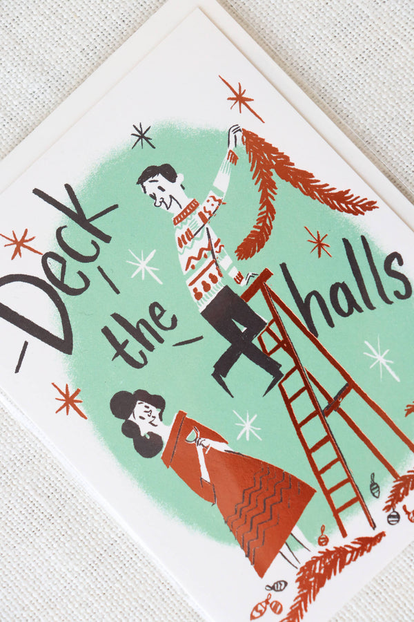 Red Cap Cards Deck the Halls