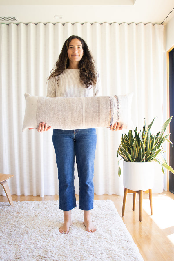 Jess-Feury-Neutral-Extra-Long-Rock-Slab-Pillow-santa-barbara-sustainable-boutique-