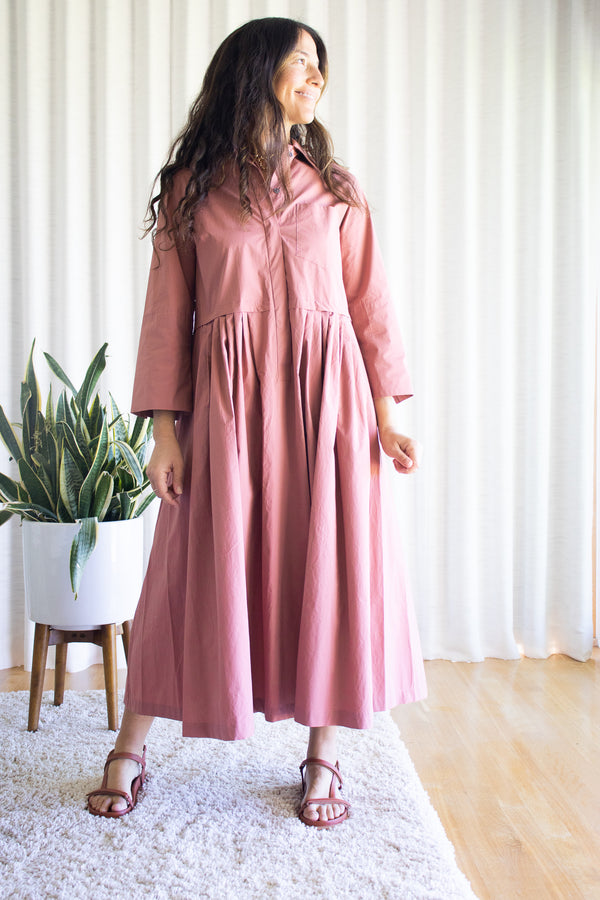 Odeeh-Terracotta-Dress-Santa-Barbara-Boutique