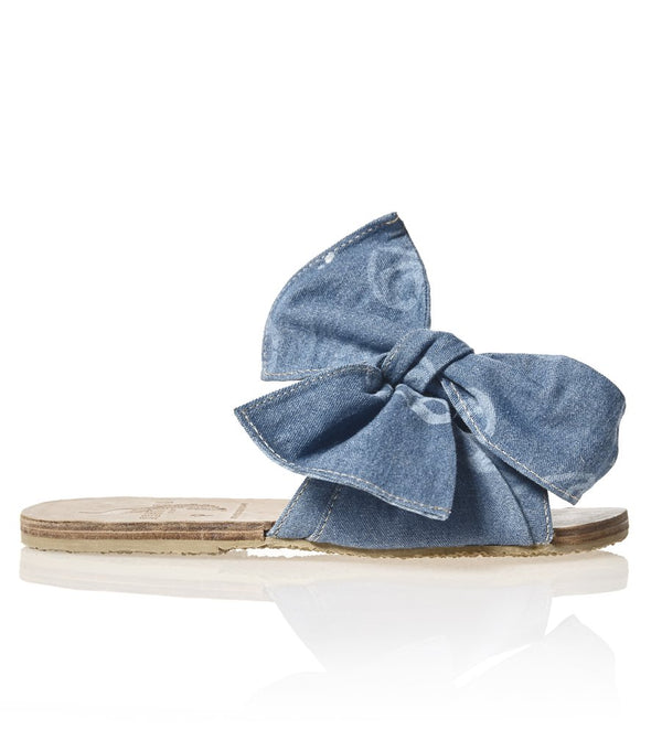 Brother Vellies Burkina Sandal in Denim