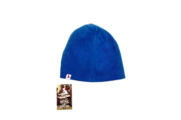 Jolly Boy Organic Beanies - Blue - OS