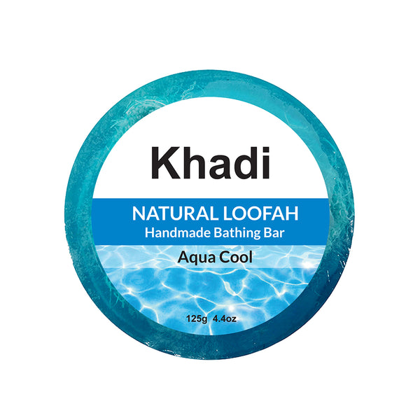 Aqua Cool Loofah Soap - 125G