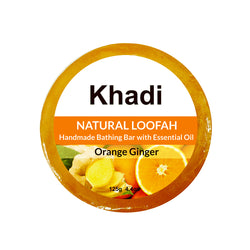 Orange Ginger Loofah Soap - 125G