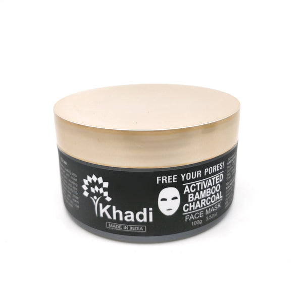 Activated Bamboo Charcoal Face Mask - 100G