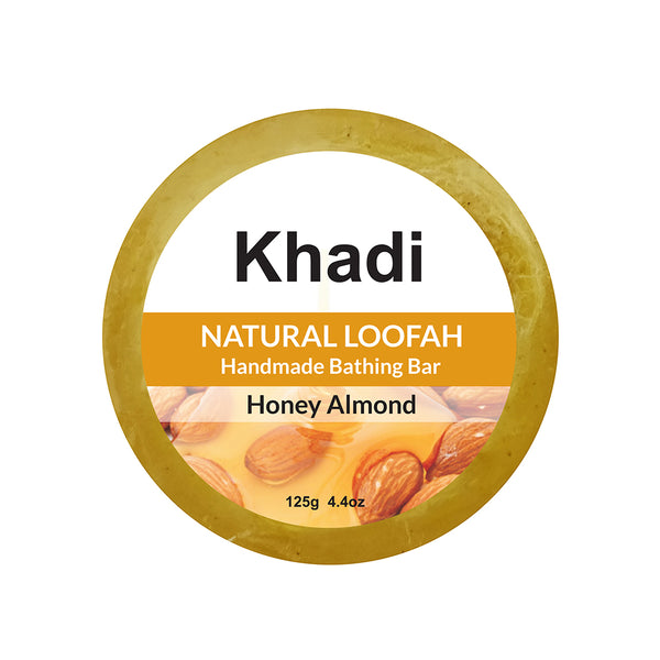 Honey Almond Loofah Soap - 125G