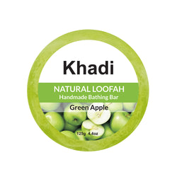 Green Apple Loofah Soap - 125G