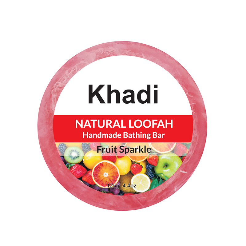 Fruit Sparkle Loofah Soap - 125G