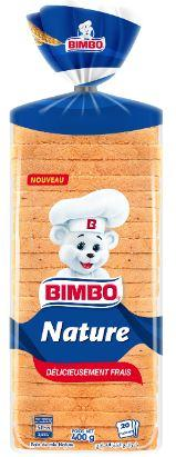 PAIN DE MIE NATURE BIMBO 400 G *10