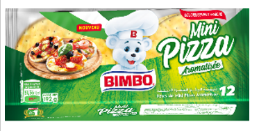 MINI PIZZA AROMATISEE Bimbo 192 G *10