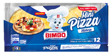 MINI PIZZA NATURE Bimbo 192 G *10