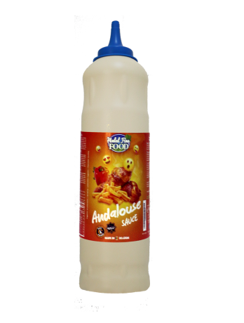 SAUCE ANDALOUS HALAL FINE FOOD GoodEats 925 ML*10