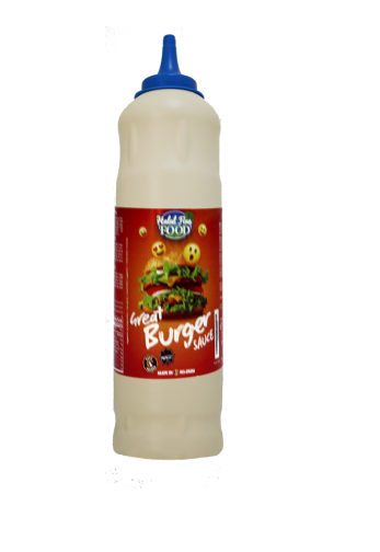 SAUCE BURGER HALAL FINE FOOD GoodEats 925 ML*10