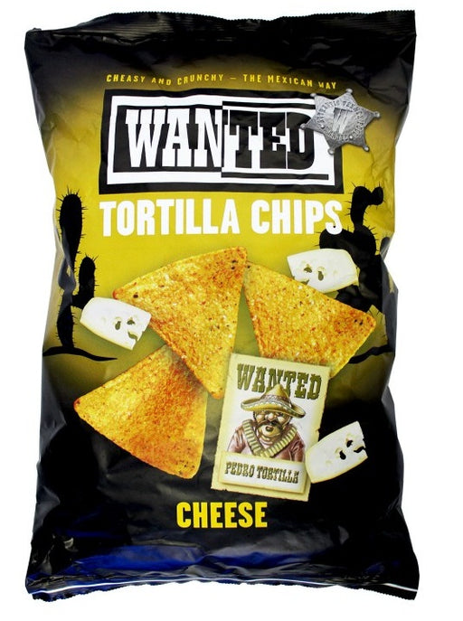 TORTILLA CHIPS CHEESE WANTED 200G X 10