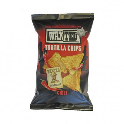 TORTILLA CHIPS CHILI WANTED 200G X 10