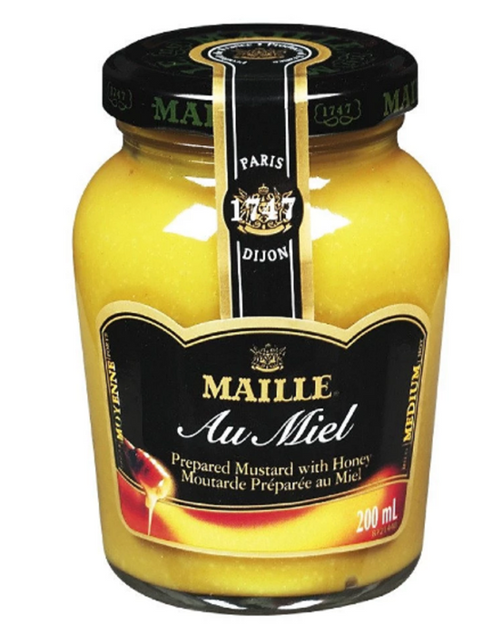 MOUTARDE MIEL MAILLE 200ML *12