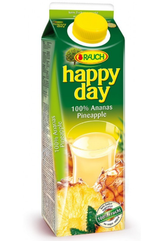 JUS ANANAS HAPPY DAY 1 L *12
