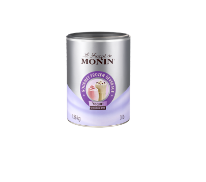 LE FRAPPE DE MONIN YOGURT SMOOTHIE BASE 1,36KG *4