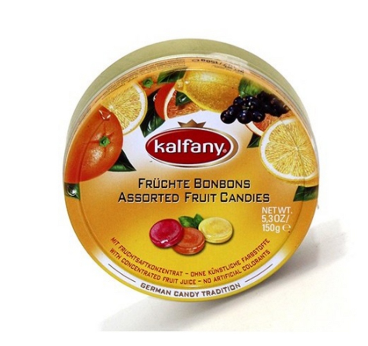 KALFANY FRUITS ASSORTIS  150 G*10