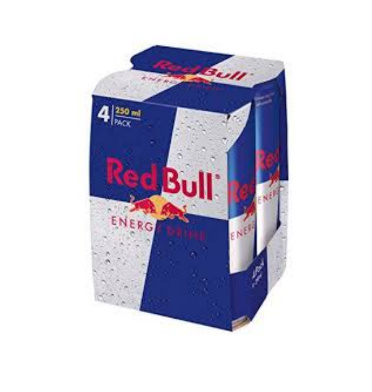RED BULL ENERGY DRINK 25 CL X 4 *6