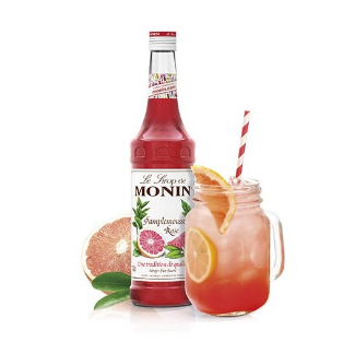 SIROP PAMPLEMOUSSE ROSE MONIN *6