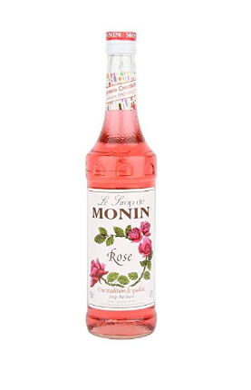 SIROP ROSE MONIN *6