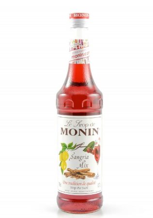 SIROP SANGRIA MIX MONIN 70CL *6
