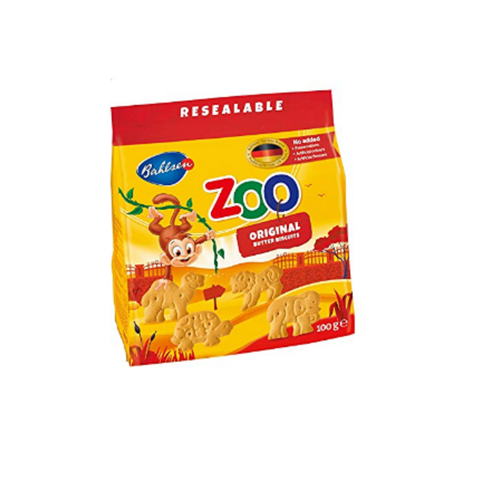 BISCUIT ZOO COUNTRY BAHLSEN 100G*12