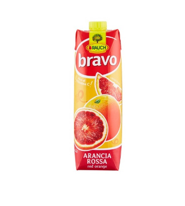 BRAVO ORANGE SANGUINE 1L *12