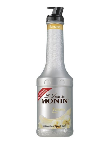 LE FRUIT DE MONIN BANANE 1L *4