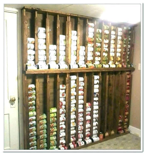 Fascinating Canned Goods Organizer
