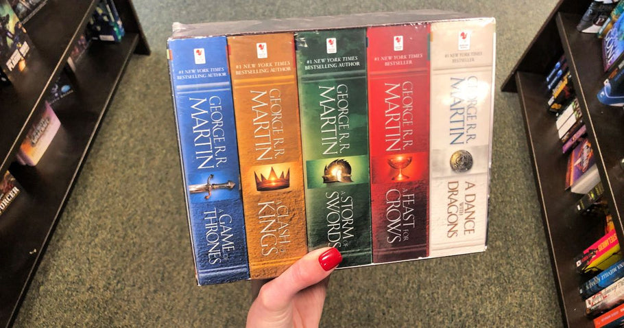 A Game of Thrones 5-Book Box Set Only $19 (Regularly $50)