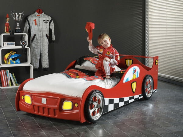 Kids love racing cars and it's not that difficult to understand why