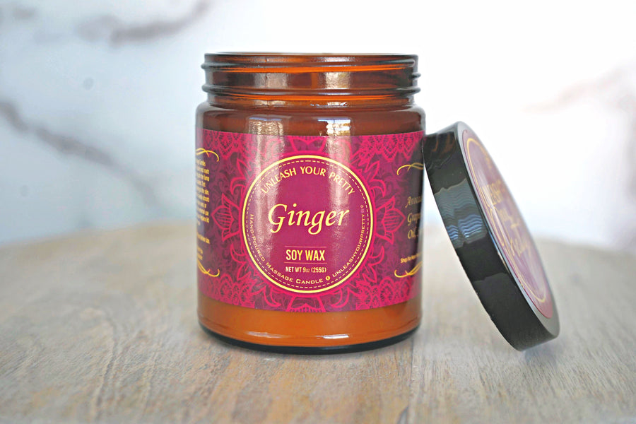 Ginger Moisturizing Soy Candle