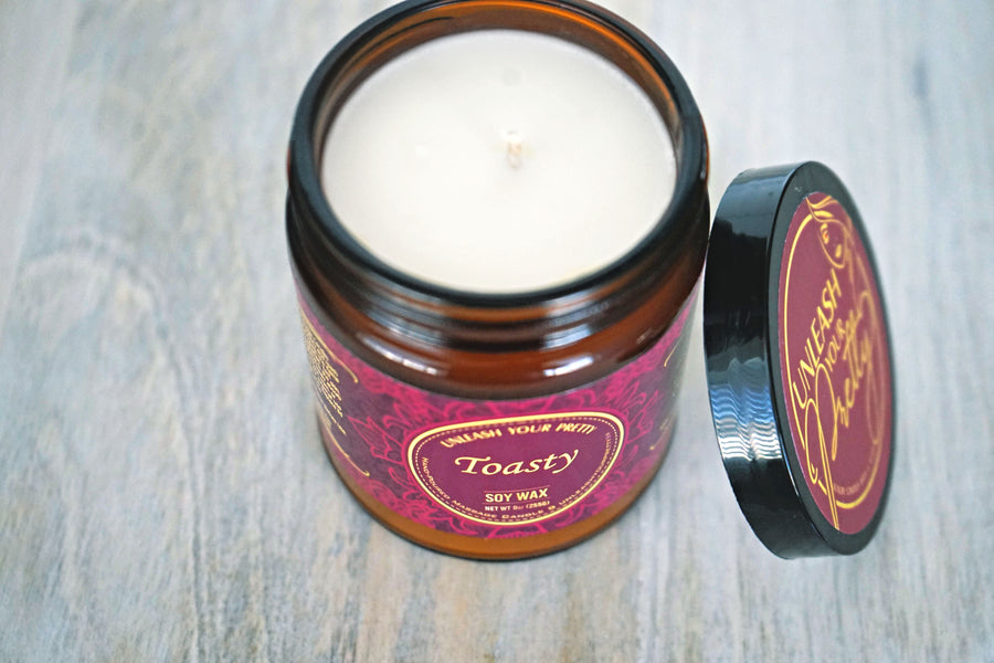Toasty Moisturizing Soy Candle