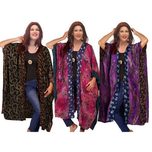Gypsy Wrap Boho Colorful Layering Jacket